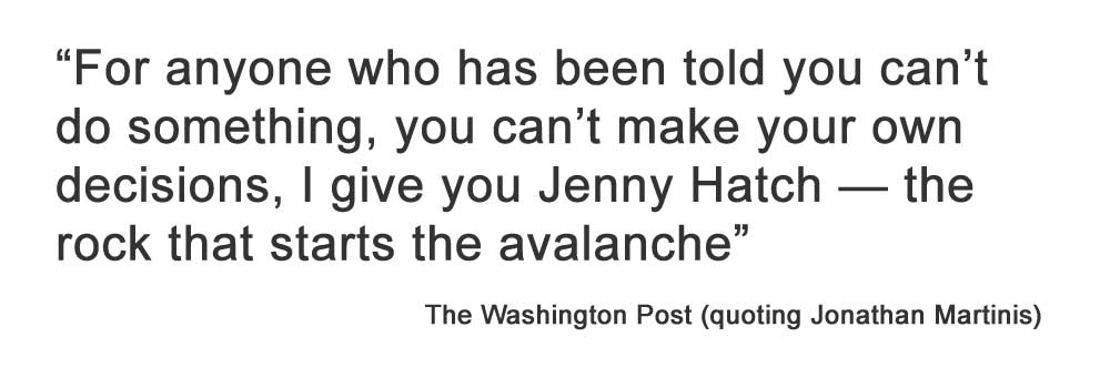 Make Your Own Decisions Quotes: Jenny Hatch Justice Project In The News